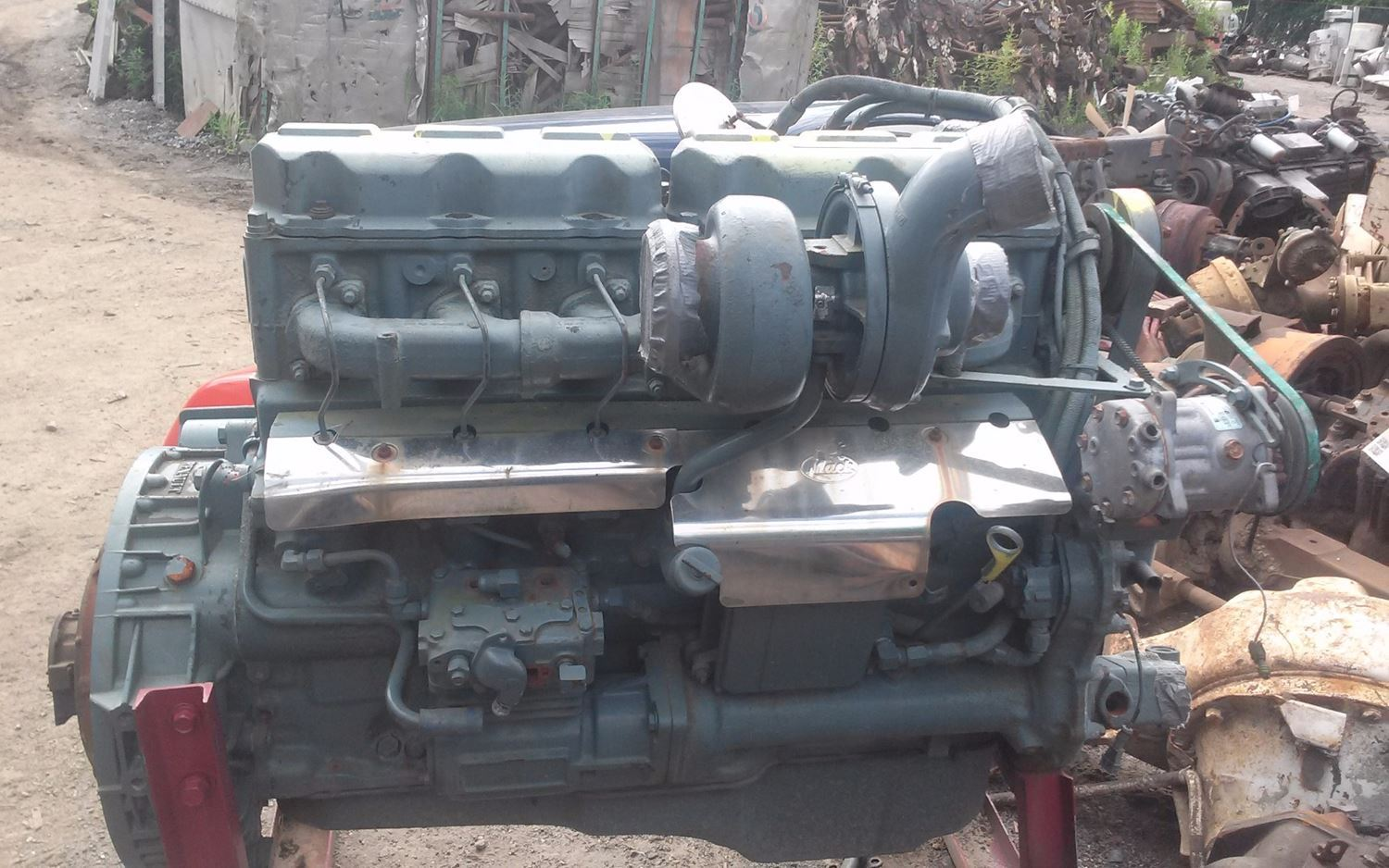 USED MACK ETECH ENGINE ASSEMBLY TRUCK PARTS #358950